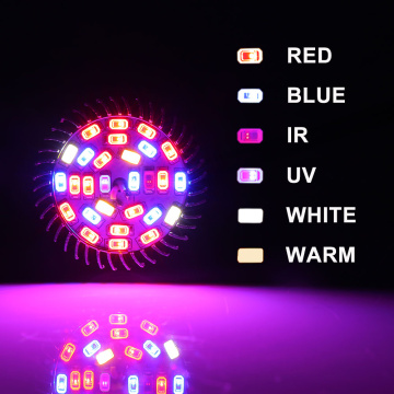 28W Full Spectrum Led Grow Blub Light E27