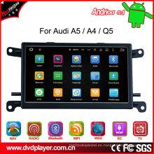 Reproductor de DVD de la navegación del GPS del coche para Audi Q5 / A5 / A4 Digital TV Bt, salida video de la música del Bt Navegación del GPS