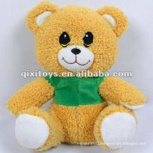 lovely teddy plush toy bear with T shirt