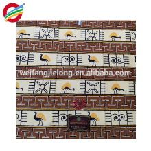 Nuevo estilo de verdadera cera africana real imprime lote de tela