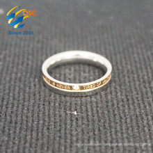 Popular women like fashion engraving stainless steel ring