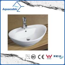 Ceramic Cabinet Art Basin and Vanity Top Hand Washing Sink (ACB8001)