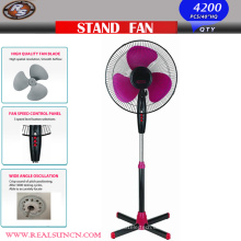 16inch Sockel-Ventilator mit Querbasis-Schwarz-Farbe