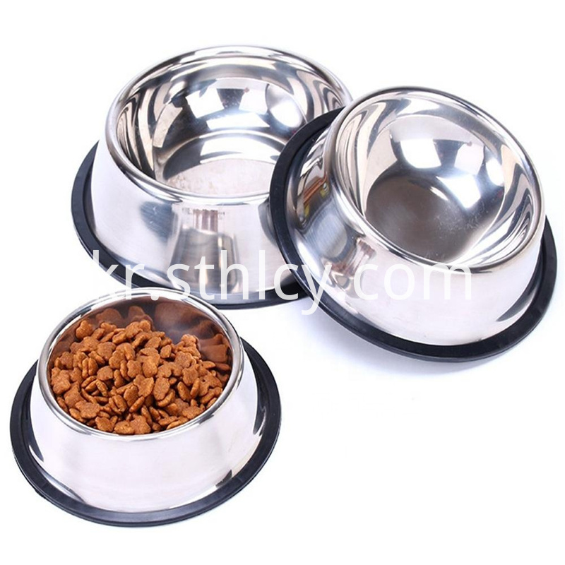 Melamine rebound rubber base bowl