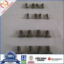 Ti Gr7 -DIN7991 Flat Head Countersunk Screws