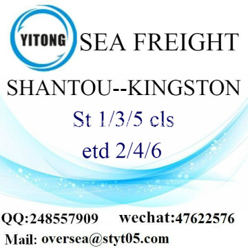Consolidamento di LCL di Shantou Port a Kingston