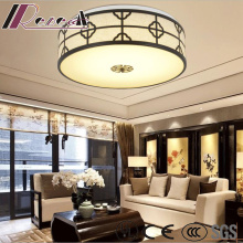 Modern Chinese Style Round Simple Ceiling Lamp with Living Room
