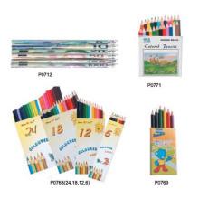 Lápis lápis de cor definido para crianças promoção lápis