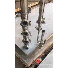 30/50/100 / 200L kupfer blase platte edelstahl reflux moonshine destillieren / destillationskolonne milchdose / bolier fabrik preis