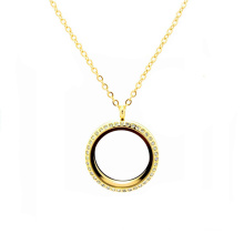 Women Female Fashion 22k Thick Gold Thin Rope Chains Lockets Necklaces