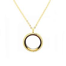 Женщин Женский мода 22к толщиной Золотой тонкий веревки цепи медальоны ожерелья