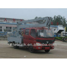 Good Performance Foton high altitude truck,4x2 aerial platform truck