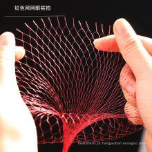 Saco de rede de embalagem de saída de fábrica para cebola