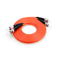ST MM DX Fiber Patch Cord