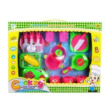 Crianças brincam brinquedo de plástico jogo de brinquedos jogo de cozinha (h9948034)