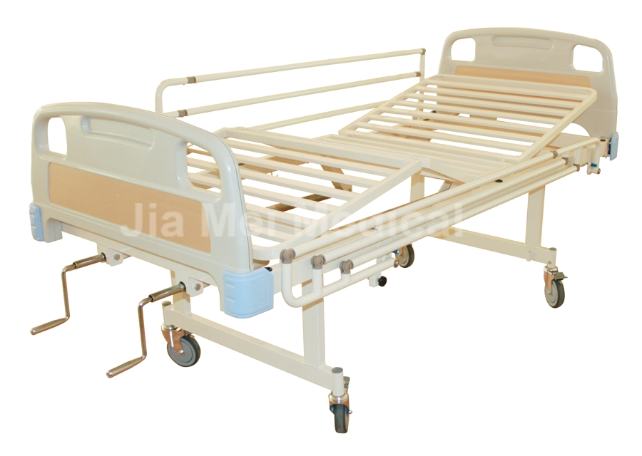 back lifting hospital bed