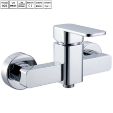 robinets de mélangeur de douche antique de salle de bains