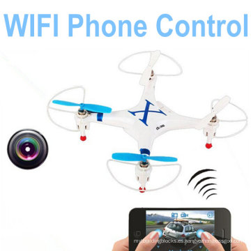 Cheerson Cx-30W para iPhone / iPad / Android Control WiFi Quadcopter 2.4G Drones de 6 ejes con cámara 10217565