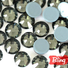 Bling strass Hotfix diamante negro SS20