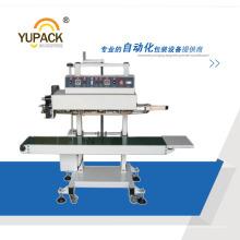 Высокоскоростная вертикальная машина для запайки мешков / укупорочная машина для мешков с кодом ленты
