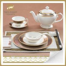 Wholesale portuguese porcelain dinnerware, bulk dinner plates for restaurants