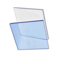 Feuille de polycarbonate solide et transparente pour fenêtres