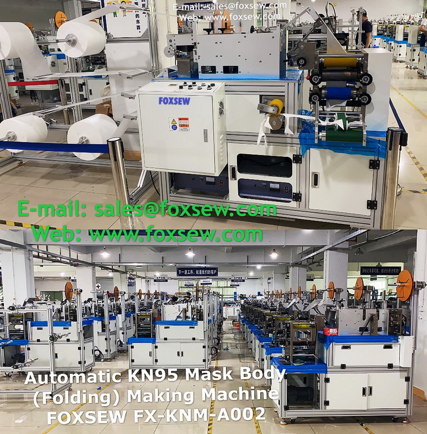 Automatic KN95 Mask Making Machine -17