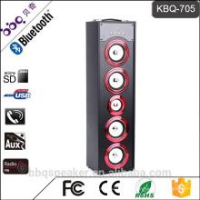 BBQ KBQ-705 45W Trinkwasser Tower Surround-Lautsprecher Bluetooth mit 6000 mAh eingebautem Akku FM-Radio
