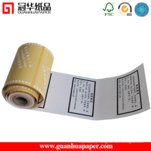 Professional China Factory OEM Printed Electronic Cash Register Paper