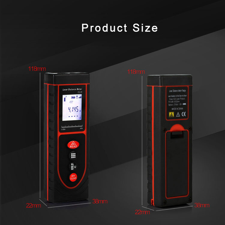 50m Outdoor Laser Distance Measurers