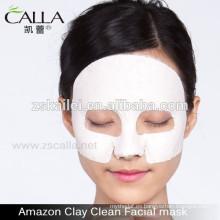 Máscaras caseras de barro facial