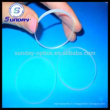 Le cristal de saphir montres le prix en verre fenêtre optique de saphir