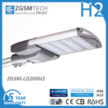 200W LED iluminación de área para estacionamiento UL Dlc TUV