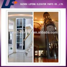 Elevator Parts For Home Elevator Lift/Wood or Glass Elevator Cabin