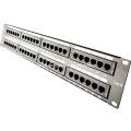 48 port home ethernet patch panel RJ45