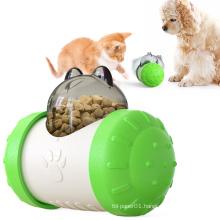 Eco-Friendly Durable Food Grade Food dispensing toy pet leak food toy