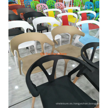 Mesa de comedor de madera elegante lamentable antigua vendedora caliente 2016 con 3 sillas