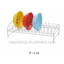 Home Küche Metall Dip und wasserdichte Schalenhalter