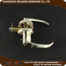Exceptionally smooth operation precise solid lever action zinc alloy cylinderical door lock