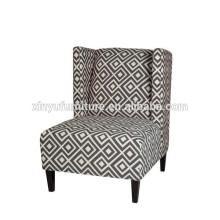 simple high wing back hotel room leisure chair XYN996