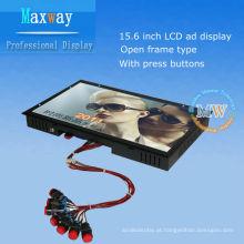 Signage digital do quadro aberto de 15,6 polegadas para a propaganda do LCD