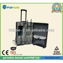 Unité dentaire portative mobile portable approuvée CE (modèle: FNP130)