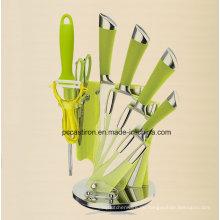 7 Piceces Küchengeräte Werkzeuge / BBQ Werkzeuge