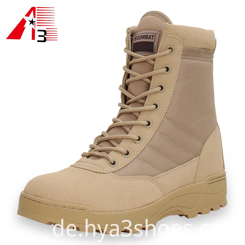 High Ankle Desert Combat Army Military Boot