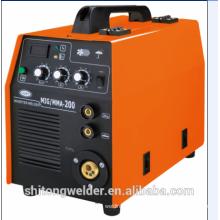 MMA / MIG Máquina de soldagem de CO2 MIG-200