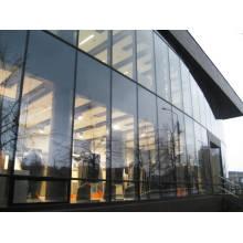 Energie-effiziente Aluminium-isolierte Doppel-Glas-Vorhangfassade