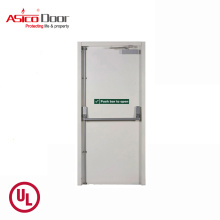 ASICO Steel Fire Rated School Interior Single Leaf Door With UL Listed