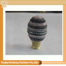 Beste Hersteller in China Chrome Ball Vorhang Pole Finials