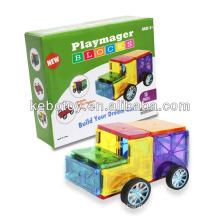 Educação brinquedo magnético painel magna azulejos 3-D magnético Building Tiles blocos de construção