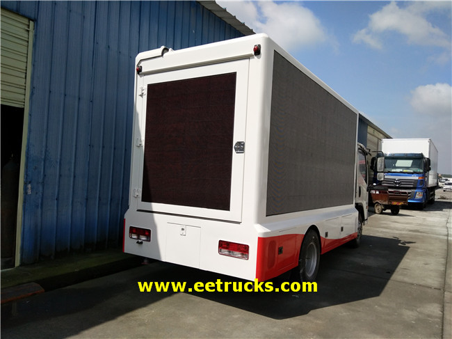 Outdoor P8 LED Screen Trucks
